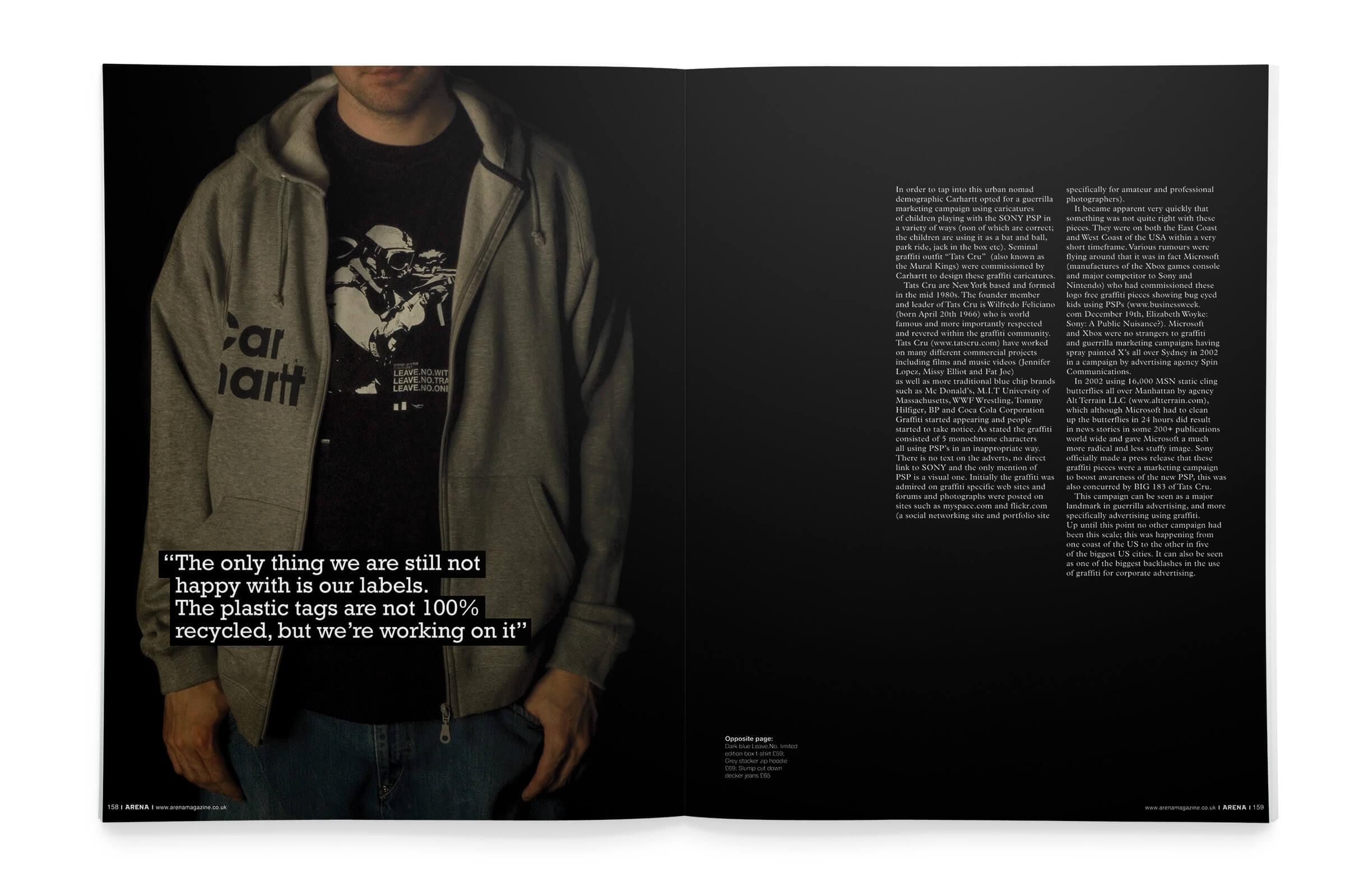 Arena Magazine-Carhartt spread 2