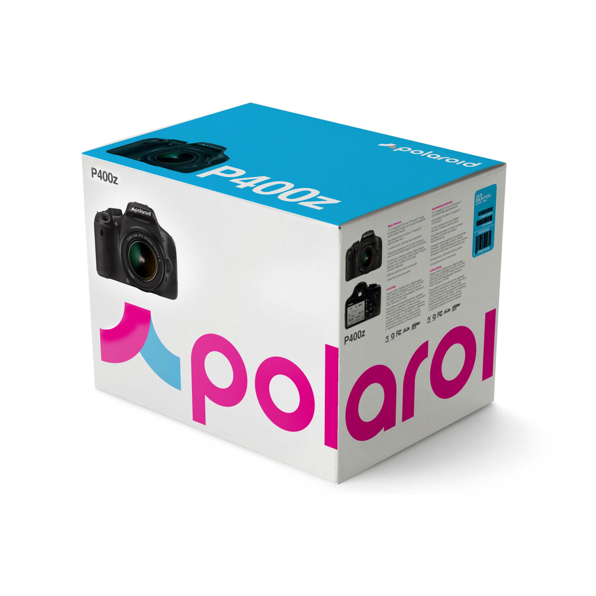 Polaroid DSLR packaging